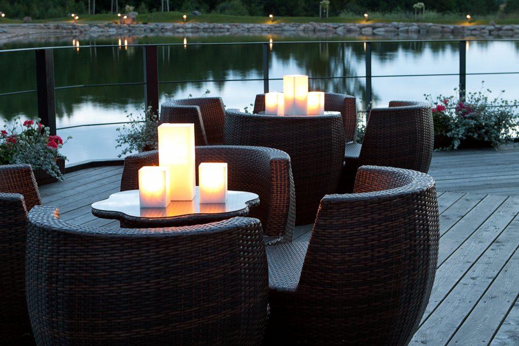 Žvakės - Žibintai, natūuralios zvakes, zvakės laukui