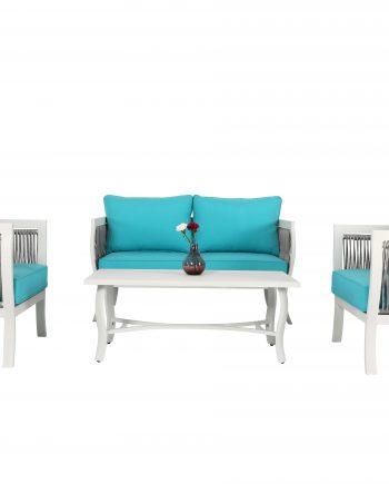 Aliuminio lauko baldai, lauko baldai, sofa, foteliai