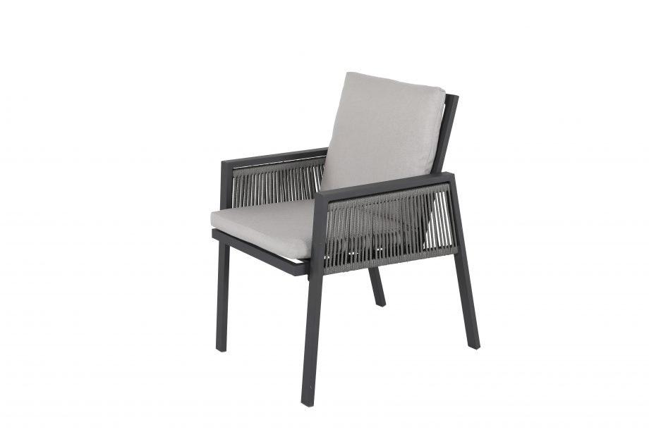 Lauko baldai, pietu stalas, foteliai