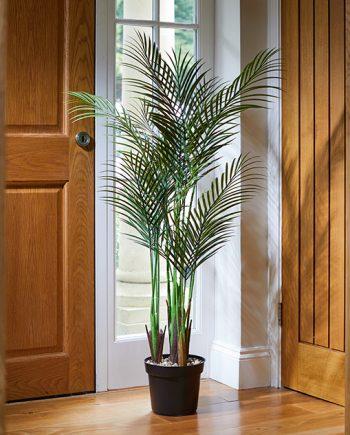 palmė, dirbtine gele, terasos aksesuarai, terasos dekoras, dekoras, dirbtines geles, palme