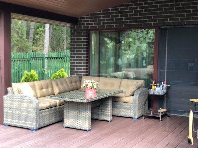 terasos baldai Sočiai pailsėk