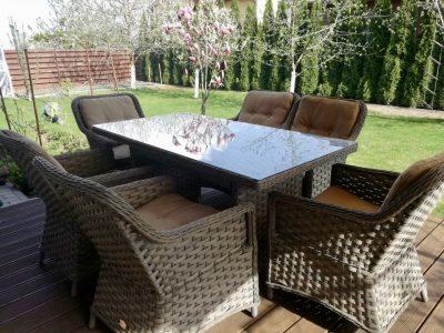 pietų lauko baldai, prabangūs lauko baldai