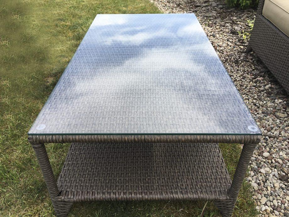 Lauko baldai sofa, stalas