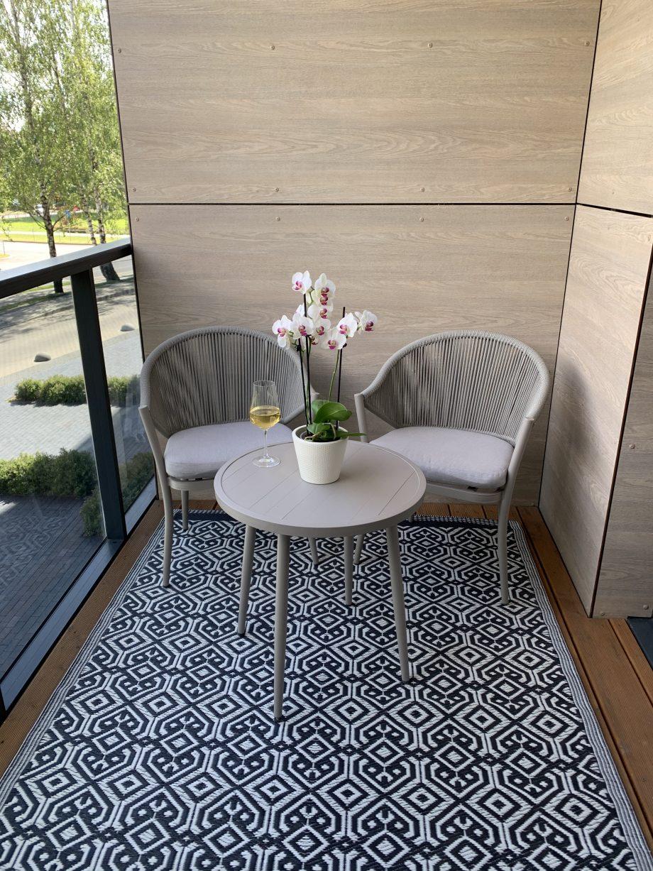svelnumas balkono baldai, lauko baldai