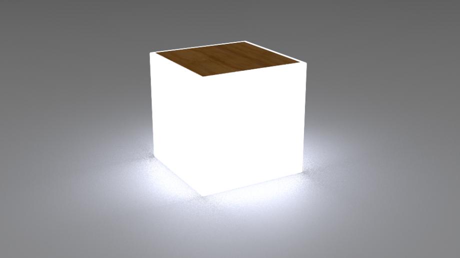 staliukas, šviečiantis staliukas